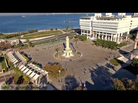 Hava çekimleri, havadan video görüntüler İzmir Belediyesi.Airkopter.com