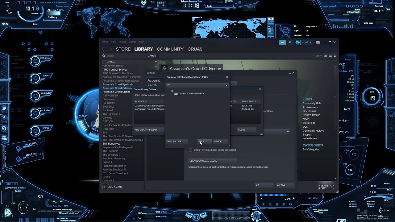 Install Games in Different Locations - Steam Support