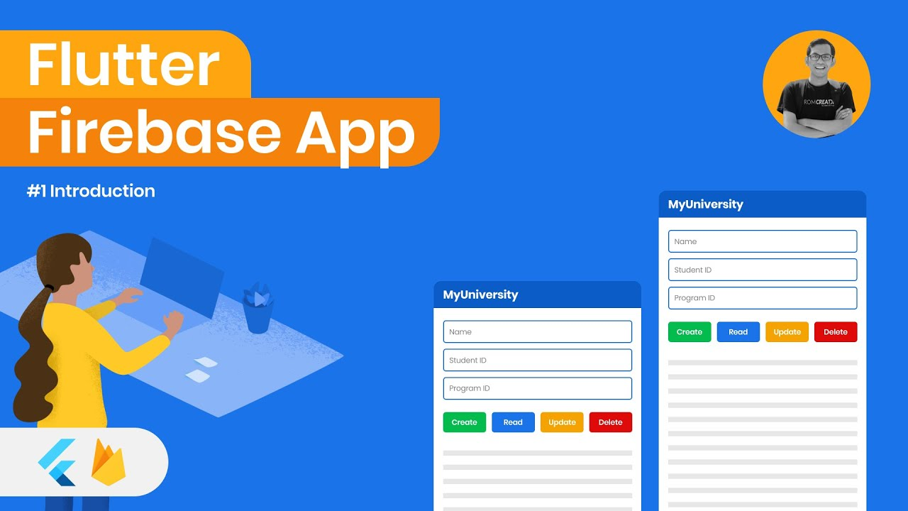 Introduction and Overview - Flutter Firebase Basic CRUD Tutorial 01