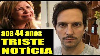 25/09/2020 Chega Triste Comunicado Ator Vladimir Brishta Marido de Adriana Esteves