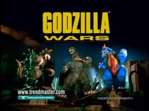TRENDMASTERS Godzilla Wars VS Space Godzilla TV Commercial ...