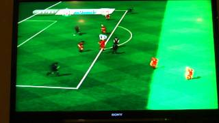FIFA Soccer '11 Wii Gameplay