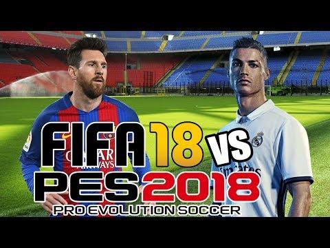 FIFA 18 vs PES 2018 | E3 Trailer Gameplay