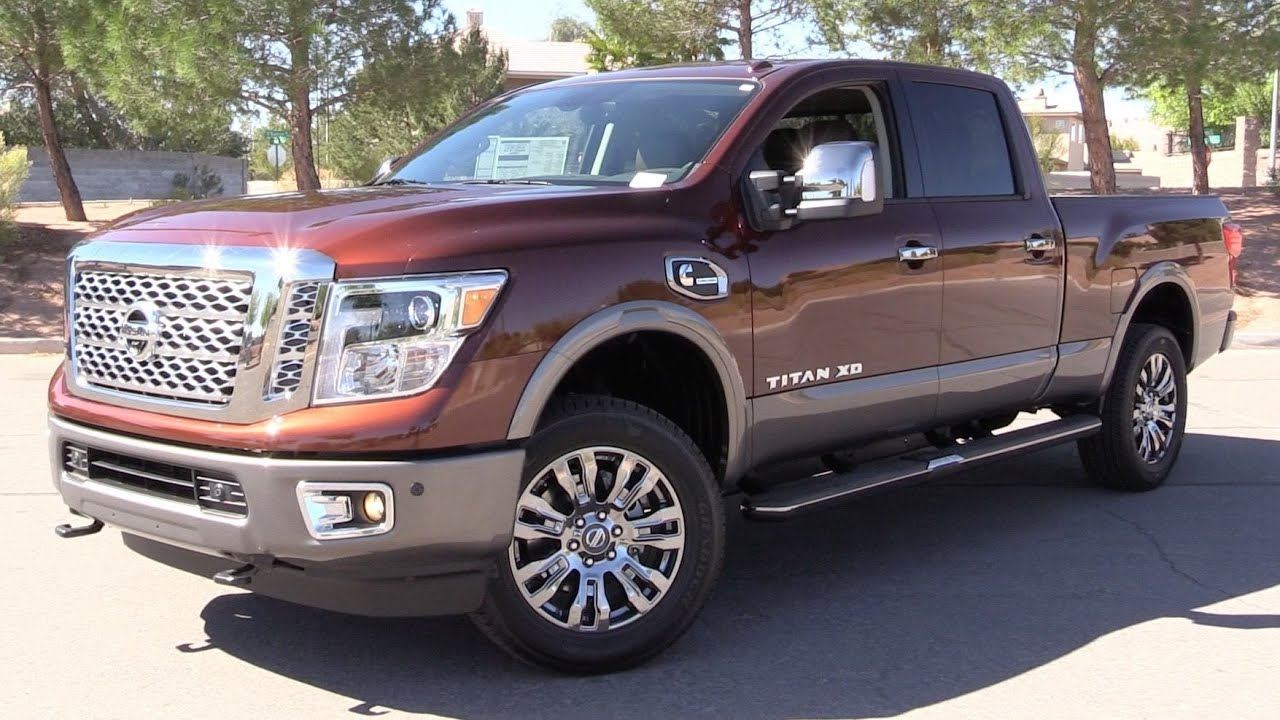 2016 Nissan Titan Xd Platinum Reserve Cummins Diesel Start Up