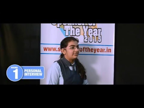 School of Scholars, Vidarbha Region, Maharashtra   MV Speaker Of The Year 2015   Webisode #2