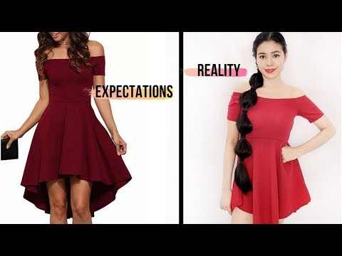 Shopee Try On Haul- Expectations Vs Reality Online Shopping- Beautyklove