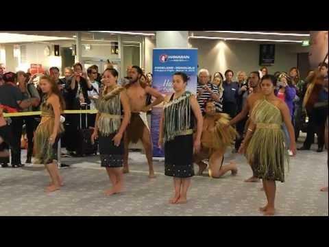 Aloha Auckland - Hawaiian Airlines Arrives in Auckland, New Zealand