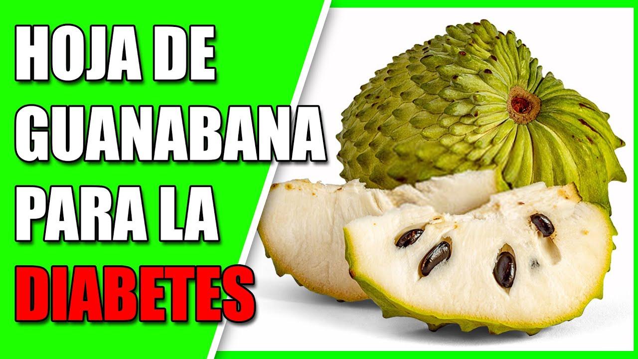 té de hoja de guanábana y diabetes