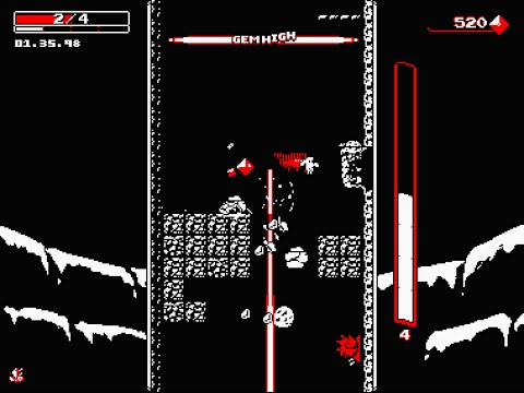 Downwell - Extended Gameplay Video [60FPS]
