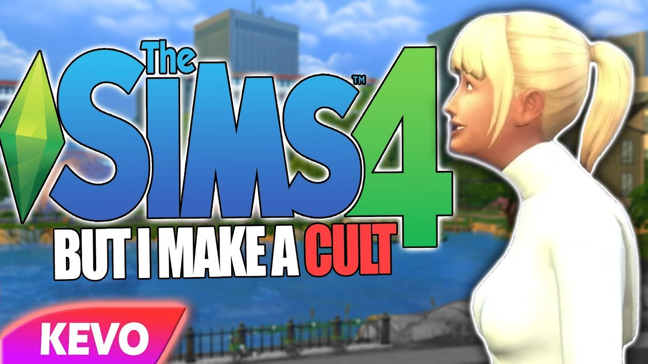 Sims 4 but I make a cult