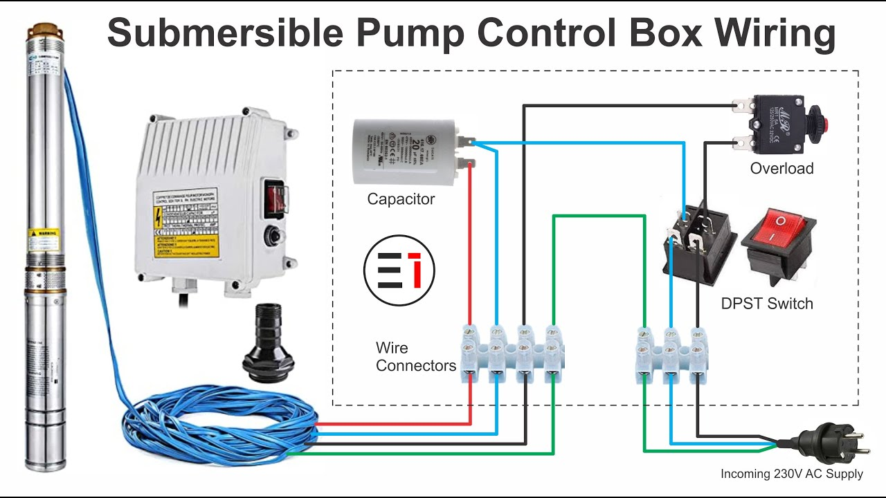 How to Wire Submersible Motor Control Box   By
