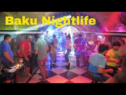 Red Light District in Baku Azerbaijan