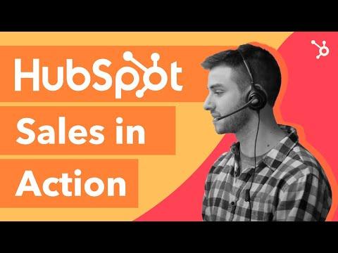 HubSpot Sales In Action | Sales Demo