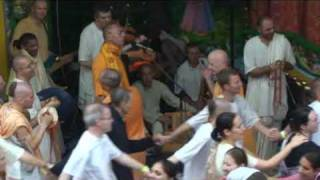 HH Sivarama Swami Vyasa Puja 2009 morning kirtan leaded by HH Sivarama Swami Part 2.