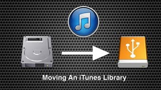 Moving Your iTunes Library in Mac OS X