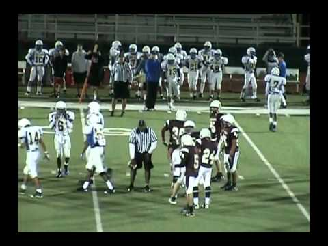 9th Football Round Rock Dragons vs Pflugerville Panthers 10/27/11