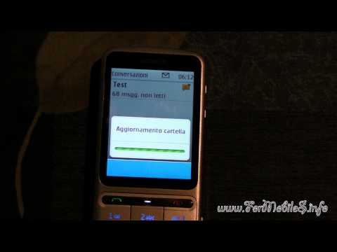 Nokia C3-01 Touch and Type - Demo SMS Bombing