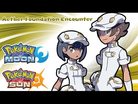 Pokemon Sun & Moon - Aether Foundation Employee Encounter Music (HQ)