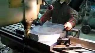 Cincinnati #4 milling Climax bolster plate- time elapsed