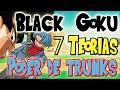 7 Teorías De Black Goku Poder Trunks Del Futuro Desaparición De Wiss Dragon Ball Super