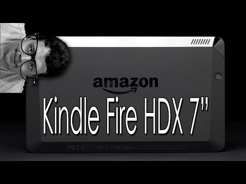 Got my wife a Kindle Fire HDX 64GB to read 50 Shades of Grey. Let's unbox it!
