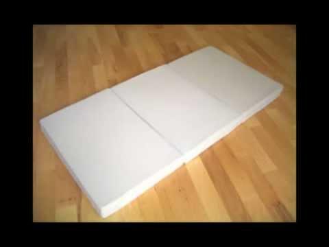 Memorrest Memory Foam Folding Guest Bed Ultimate Sleep