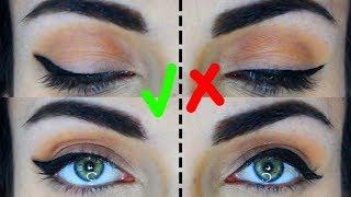 How To: Eyeliner For Hooded Eyes   Do's and Don'ts   MakeupAndArtFreak
