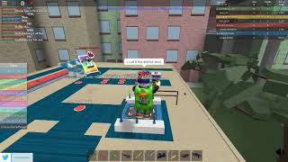 DOING TRICKSHOTS IN ROBLOX TYCOON