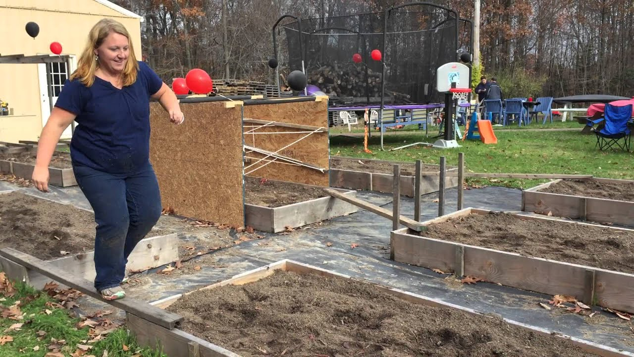american ninja warrior homemade obstacle course youtube