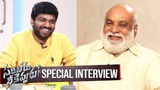 Director K Raghavendra Rao Special Interview With Anil Ravipudi on Sarileru