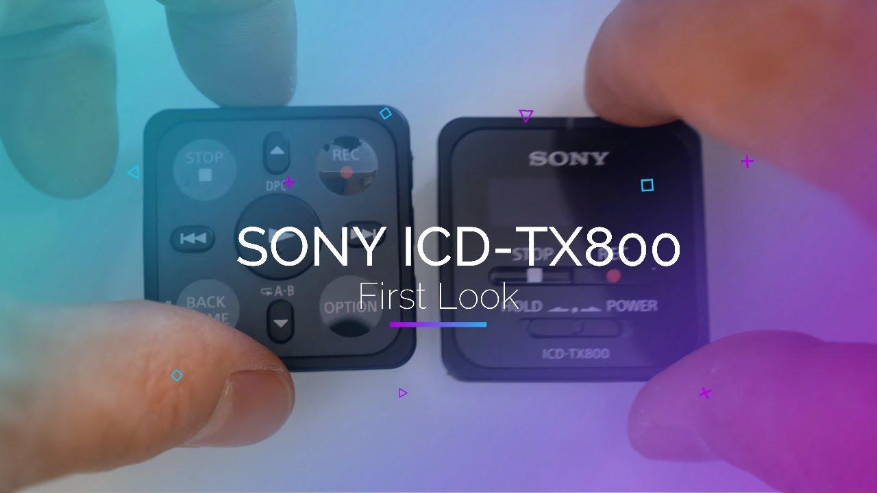 Sony ICD-TX800 Ultra Portable Digital Audio Recorder