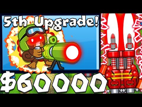 AUTO ROCKET TURRET TOWER - BLOONS TD BATTLES MOD