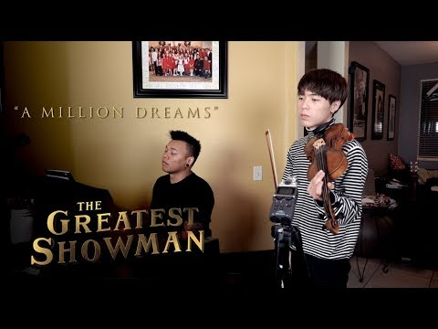 A Million Dreams - The Greatest Showman ft. Jun Curry Ahn | AJ Rafael (Violin/Piano Cover)