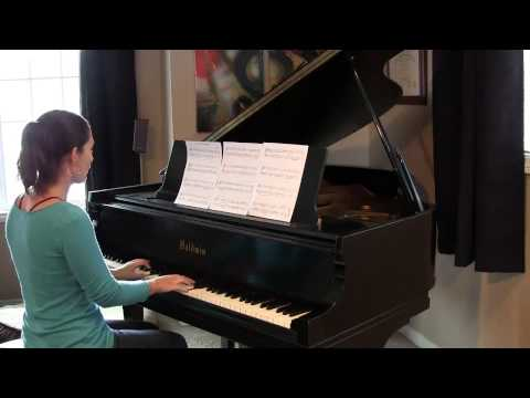 Joy to the World ~ Piano Solo by Jennifer Eklund (+sheet music)