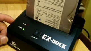 Kingwin EZ-Dock EZD-2535 HDD Dock Review and Disassembly