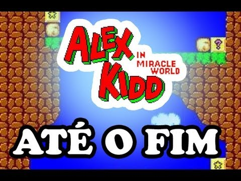 Gameplay Retrô: Alex Kidd in Miracle World ATÉ O FIM!