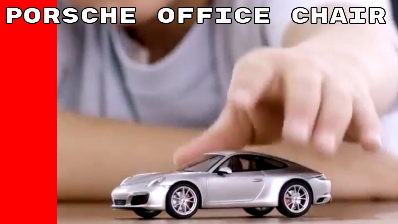 porsche office chair - youtube