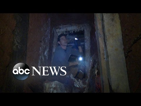 Inside Secret Drug Tunnels Running From the US to Mexico