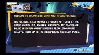 MotorStorm Arctic Edge on PS3 in True HD 720p
