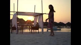 Maldivas a vista de Dron
