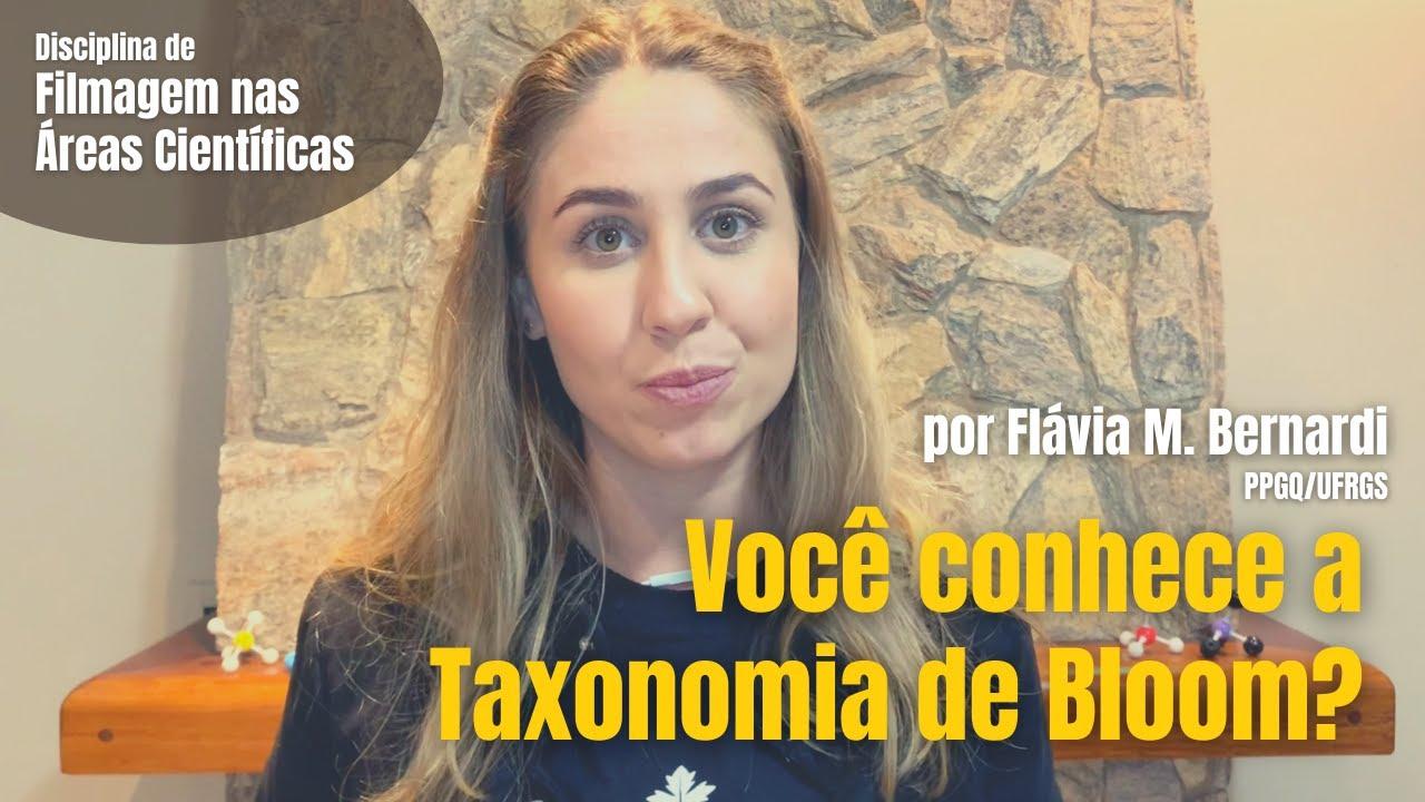 Você conhece a Taxonomia de Bloom?
