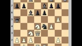 Sicilian Defence, Chekhover Variation : Mikhail Tal vs Robert Byrne