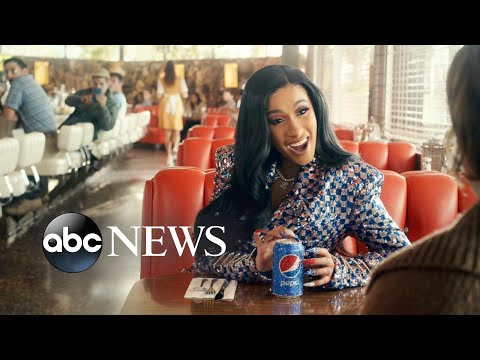 First look at Steve Carrell and Cardi B in Pepsi's 2019 Super Bowl ad Mp3