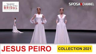 JESUS PEIRO Collezione Collection 2021 AMALIA - Valmont Barcelona Bridal Fashion Week  2020 -