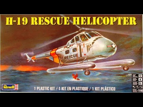 How to Build the H-19 Rescue Helicopter 1-48 Scale Revell Model Kit #85-5331 Review
