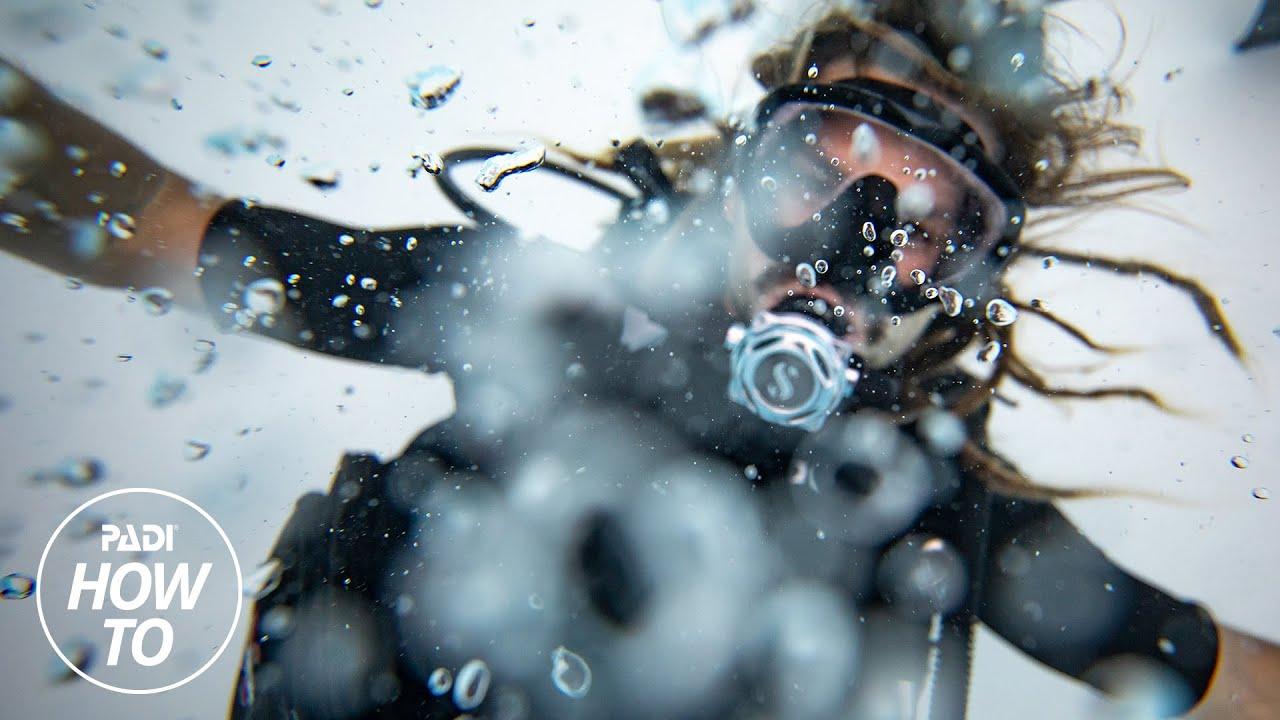 Aprendiendo sobre las habilidades subacuáticas