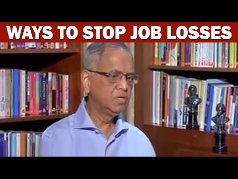 Infosys Co-founder NR Narayana Murthy Suggests Ways To Stop Job Losses