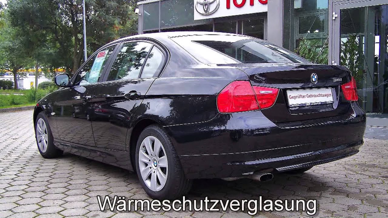 bmw 316i limousine 764558 klimaanlage bmw 316i 2010 youtube. Black Bedroom Furniture Sets. Home Design Ideas