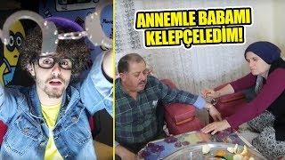 ANNEMLE BABAMI KELEPÇELEDİM!