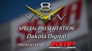 Dakota Digital Cruise Control and Climate Control Panels Video SEMA 2015 V8TV